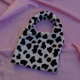 cow print cowgirl clutch