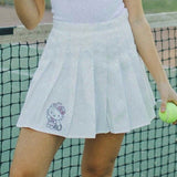 hello kitty cowgirl rhinestone tennis skirt