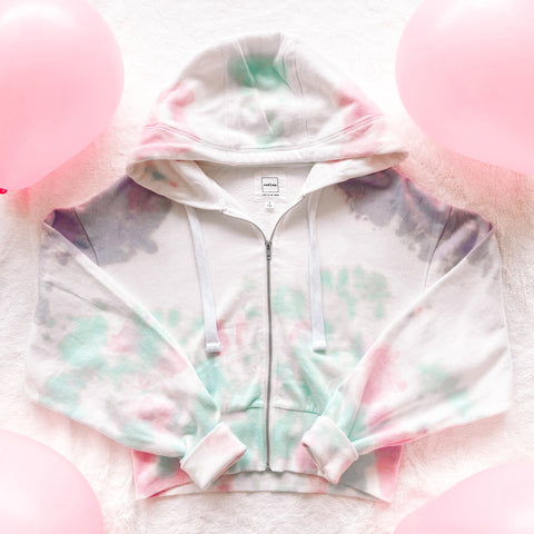 The Birthday Cake Cropped Hoodie
