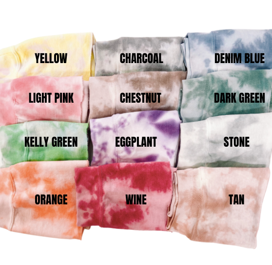 Create Your Own Tie Dye Crewneck