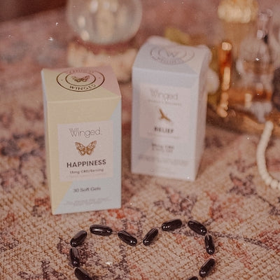 Winged Wellness products