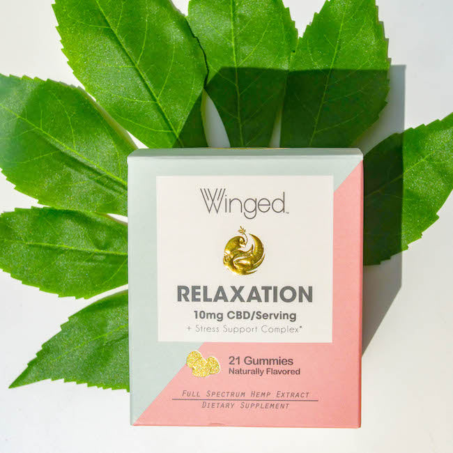 Relaxation Gummies from Winged
