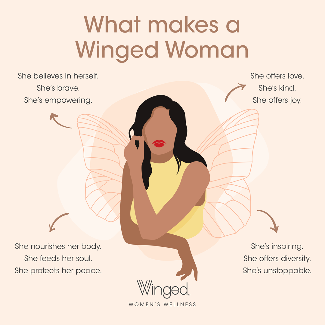 Winged Woman