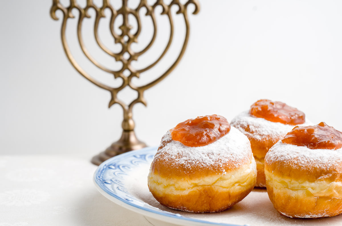 hannukah donuts fand cocktails for the holidays