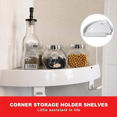 【LAST DAY 50% OFF + BUY 2 GET EXTRA 10% OFF】Corner Storage Holder Shelves - angleshops
