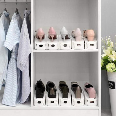 【50%OFF+FREE SHIPPING】Double Deck Shoe Rack - angleshops