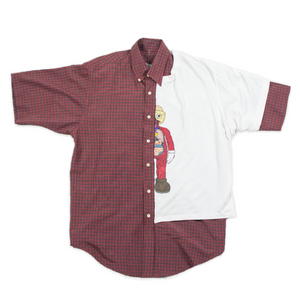 SPLICED BUTTON UP 1