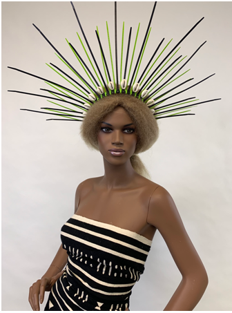 Five Ways to create Wearable Art Headdresses Using Zip Ties