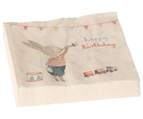 Maileg Happy Birthday Napkins