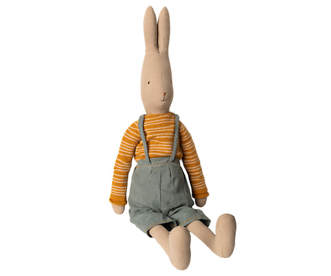 Maileg Rabbit in Overalls (Size 5)