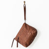 Large Leather Pouch - Cognac