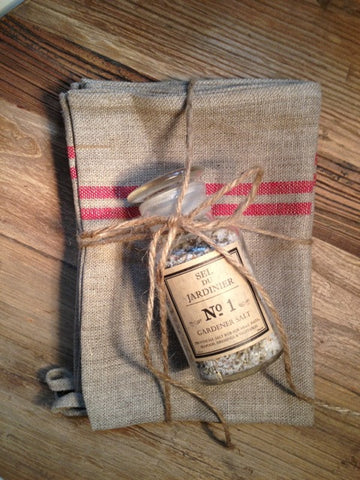 Tea Towel and Salt Pack