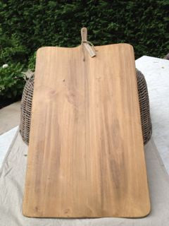 Extra large rectangular French wooden cheese serving board