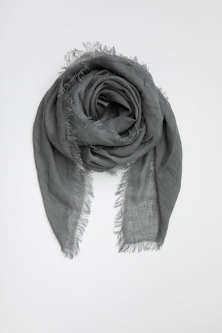 Linen Scarf - Rock Ridge
