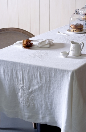 Monogram Table Cloth