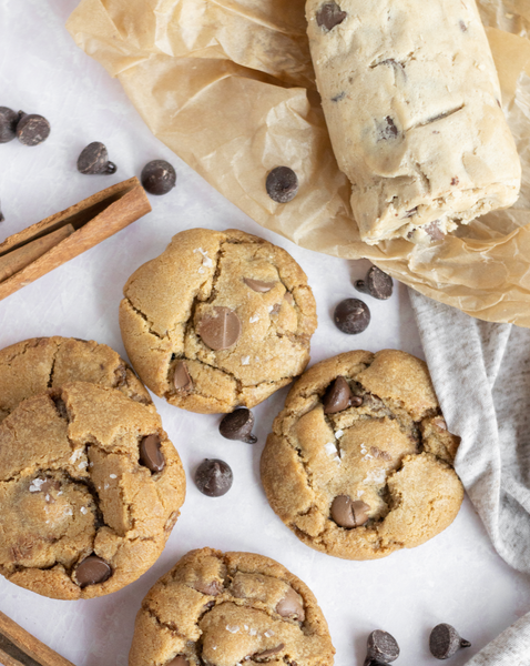 Eggless Chocolate Chip Cookies Dough