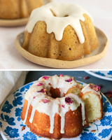 MIXED 2 PACK - Mini Chai Masala Bundt Cake and Mini Gulab Jamun Bundt Cake