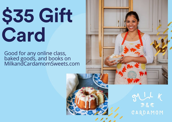 Milk and Cardamom Gift Card