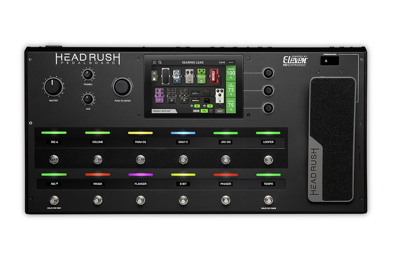 HeadRush PedalBoard Guitar Amp And FX Modelling Processor!