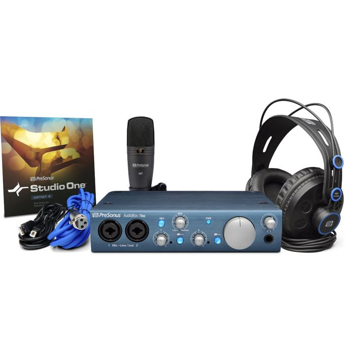 PreSonus Audiobox iTwo Studio /USB/iPad Hardware/Software Recording Kit