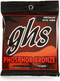 GHS Phosphor Bronze Acoustic Guitar String 0.13 - 0.56 Gauge