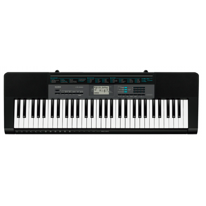 Casio CTK-2550 Standard Keyboard - 61-key model that makes it easy to enjoy various musical genres.