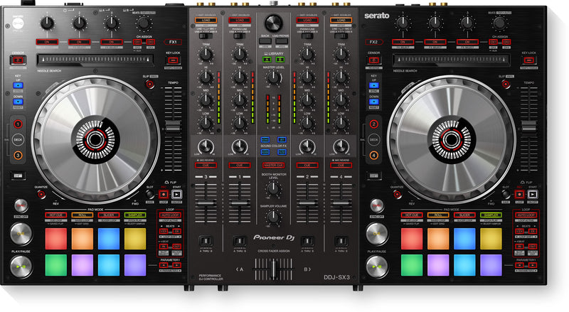 Pioneer DJ - DDJ-SX3 - 4-channel DJ controller for Serato DJ Pro - Special Promotion!