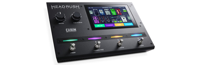 HeadRush GigBoard - Guitar FX and Amp Modeling Processor!