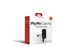 IK Multimedia iRig Mic Cast HD iOS Microphone
