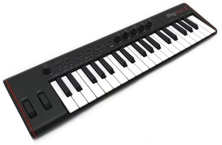 IK Multimedia iRig Keys 2 37-key Controller for iOS, Android, and Mac/PC