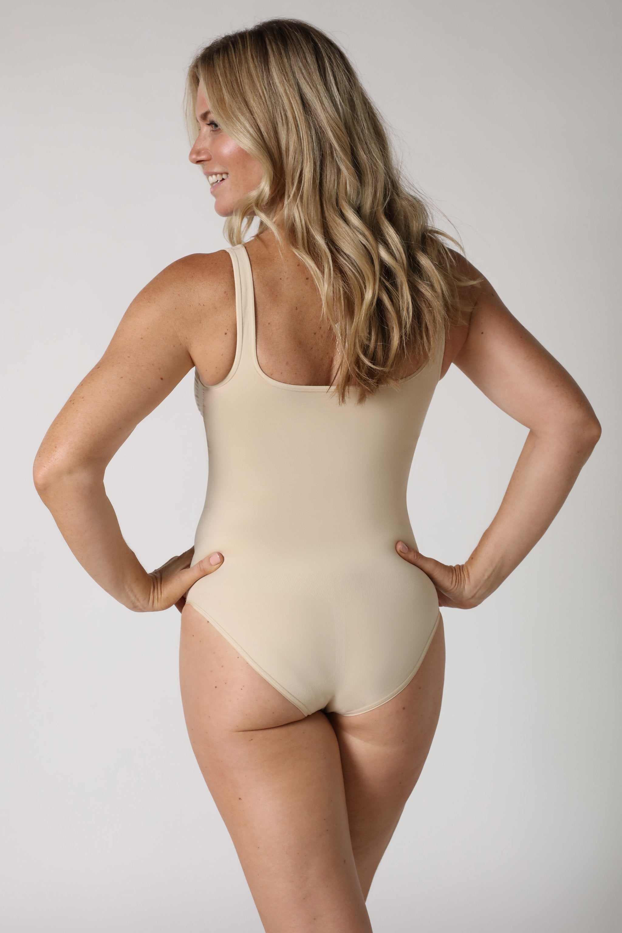 Shapewear Body - Hautfarben