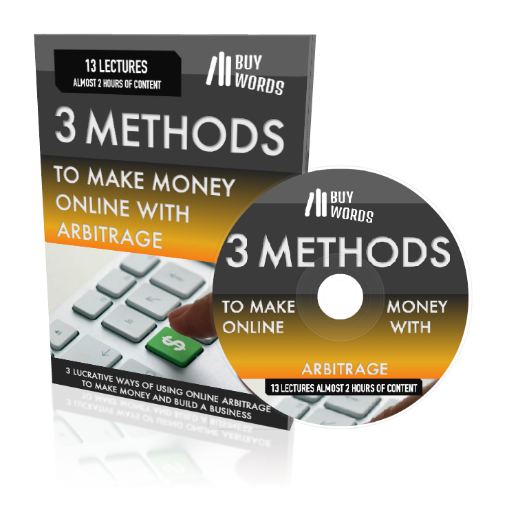 [VIDEO COURSE] 3 METHODS TO MAKE MONEY ONLINE WITH ARBITRAGE