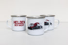 Red Edition Emaille Tasse