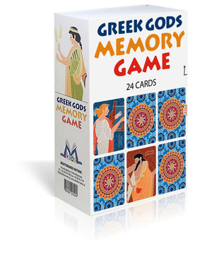 Greek Gods, Memory Game - Board Game