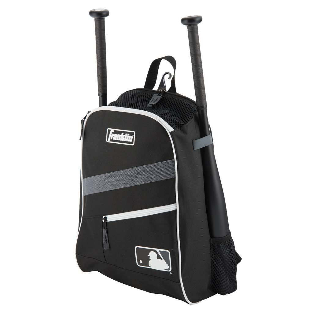 Back Pack Beisbol Softbol Franklin Negro INFANTIL