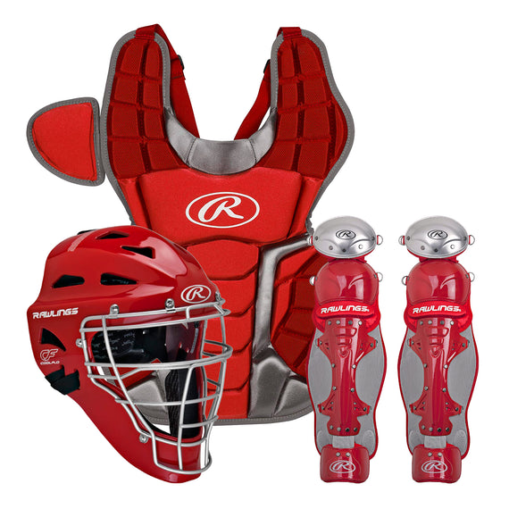 Arreos Equipo Catcher Rawlings Renegade 2.0 Adulto Rojo