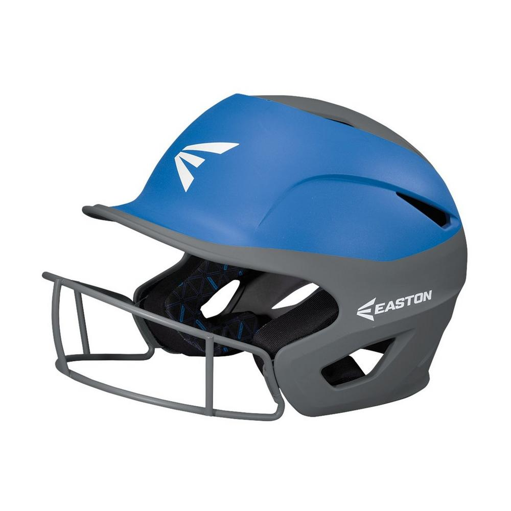 Casco Softbol Easton Prowess PF Gris Cielo