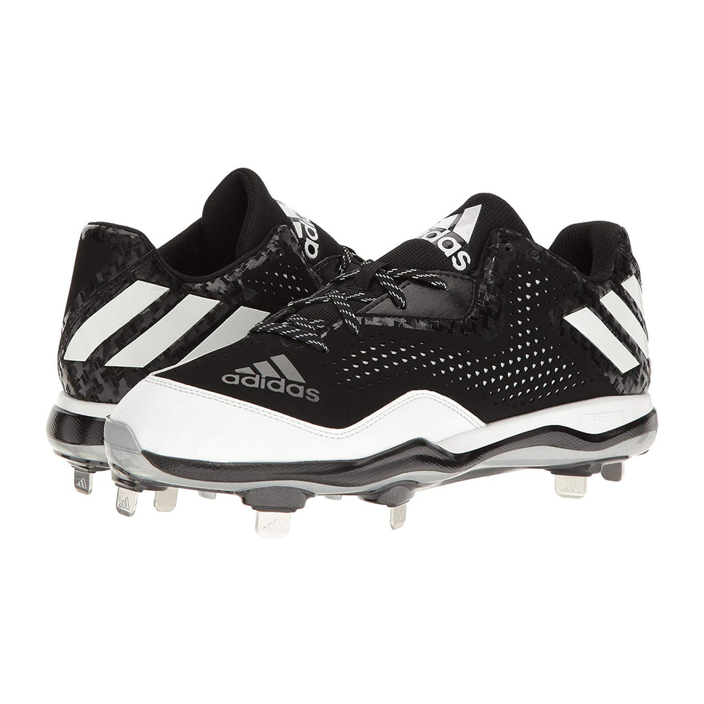 Spikes Beisbol Adidas Power Alley 4 Negro Blanco