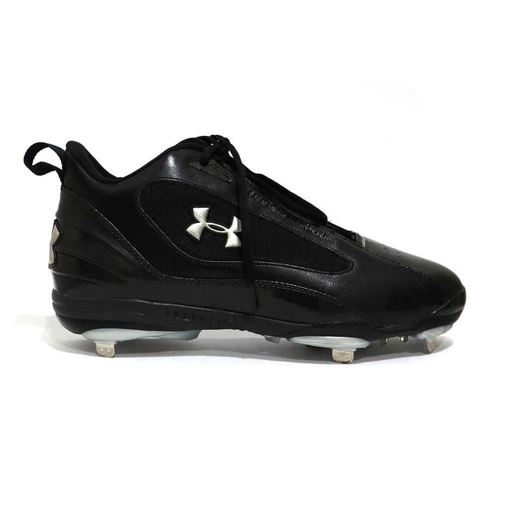 Spikes Beisbol Metal Under Armour Clutch Mid Negro