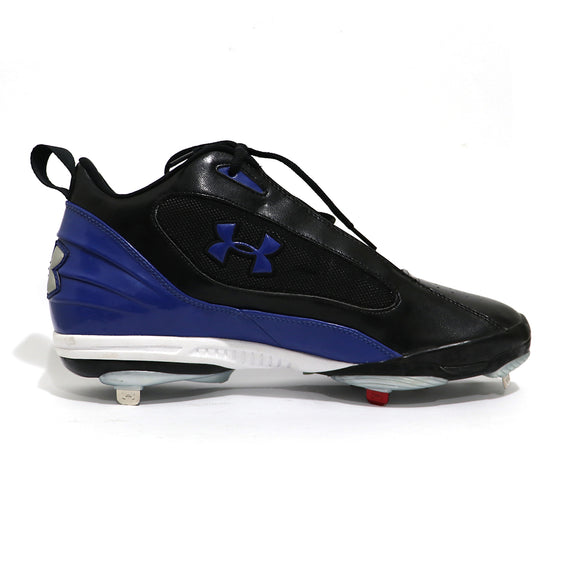 Spikes Beisbol Metal Under Armour Clutch Mid Negro Azul
