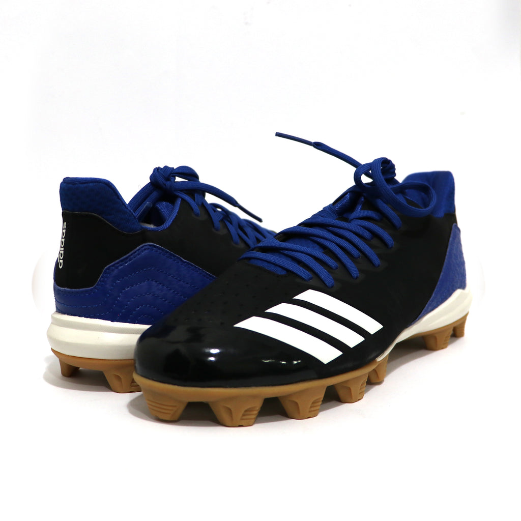 Spikes Beisbol Softbol Adidas Icon 4 MD Negro Azul