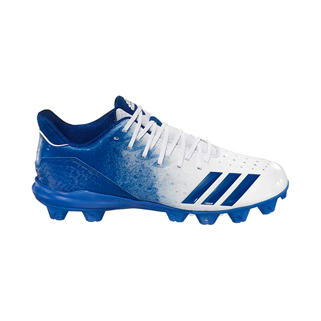 Spikes Beisbol Softbol Adidas Icon 4 Splash MD Azul Blanco