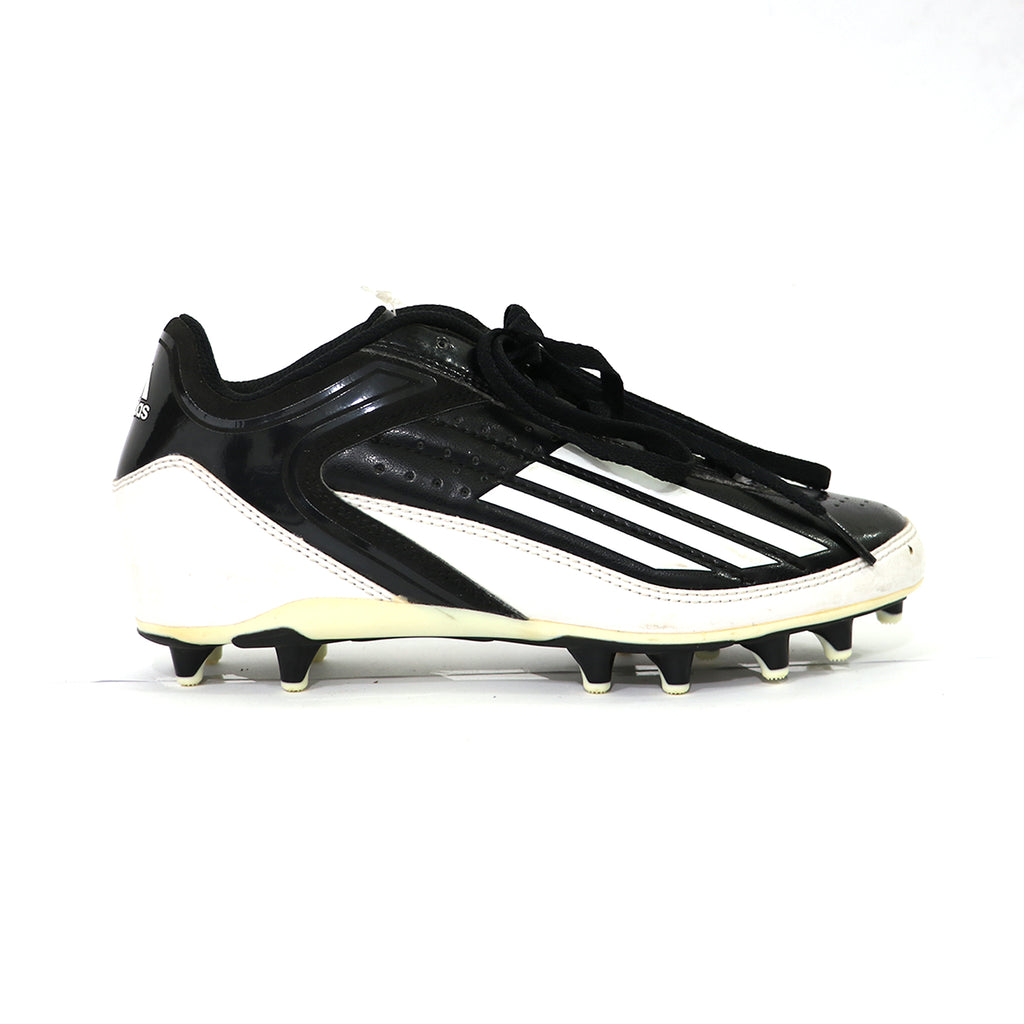 Spikes Beisbol Softbol Adidas Lighning Fly Low Negro Blanco INFANTIL