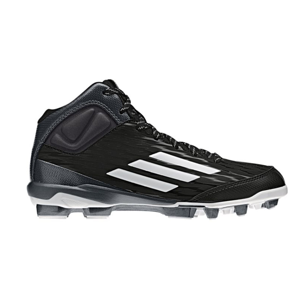 Spikes Beisbol Softbol Adidas Power Alley 3 TPU Negro INFANTIL