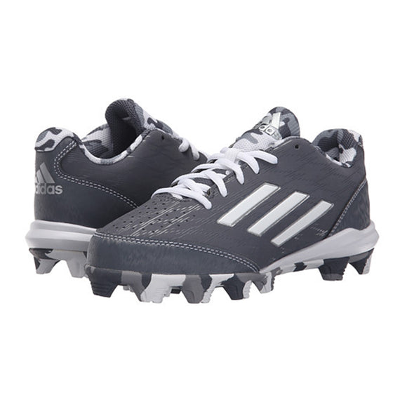 Spikes Beisbol Softbol Adidas Whell House 3 Low Gris INFANTIL