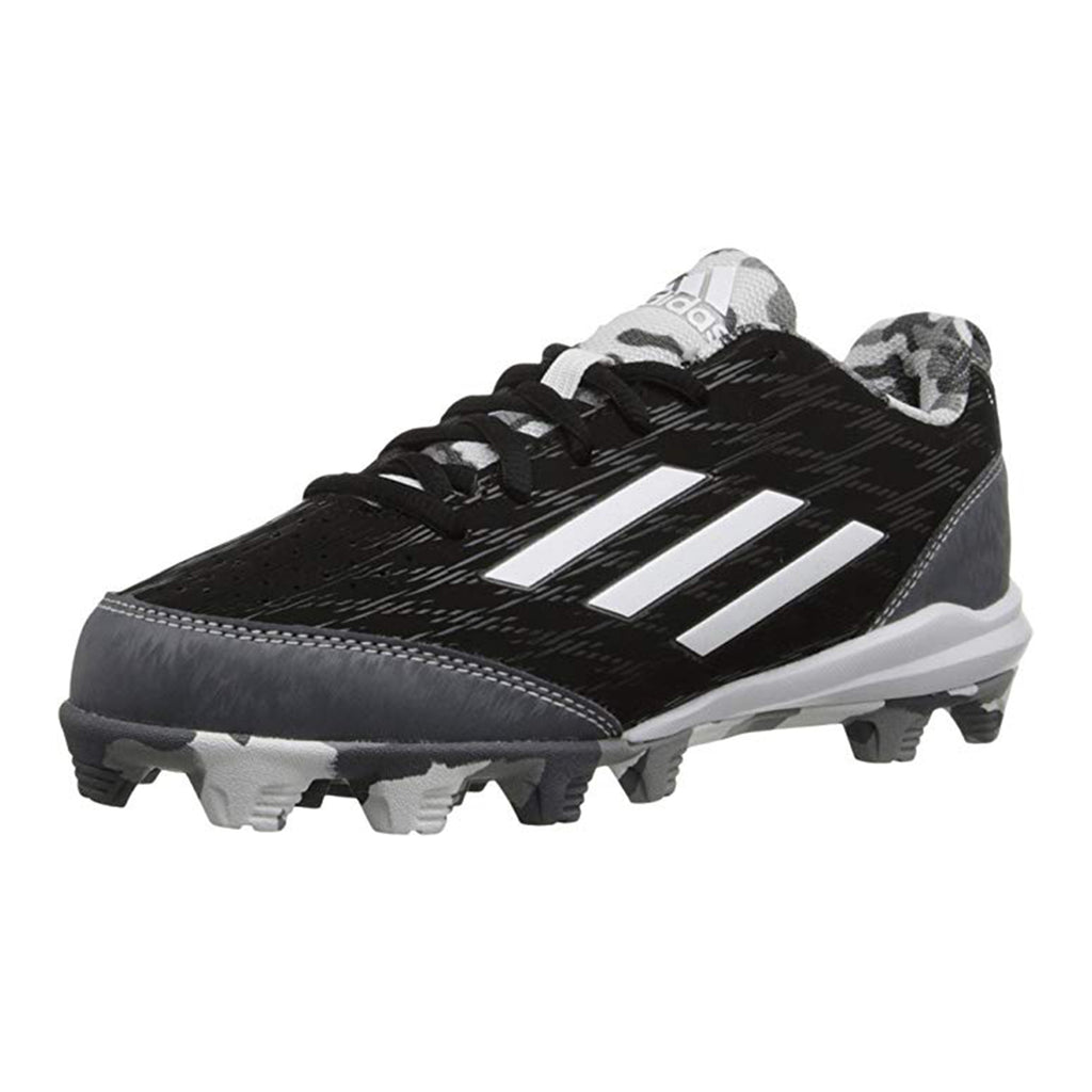 Spikes Beisbol Softbol Adidas Whell House 3 Low Negro Gris INFANTIL