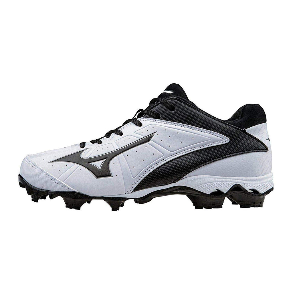 Spikes Beisbol Softbol Mizuno Finch Elite 3 Blanco Negro