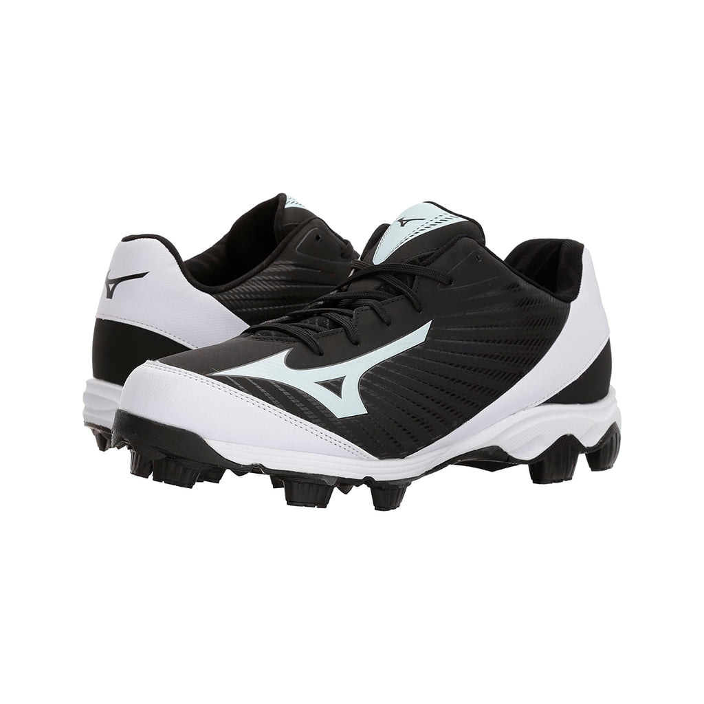 Spikes Beisbol Softbol Mizuno Franchise 9 Low Negro Blanco