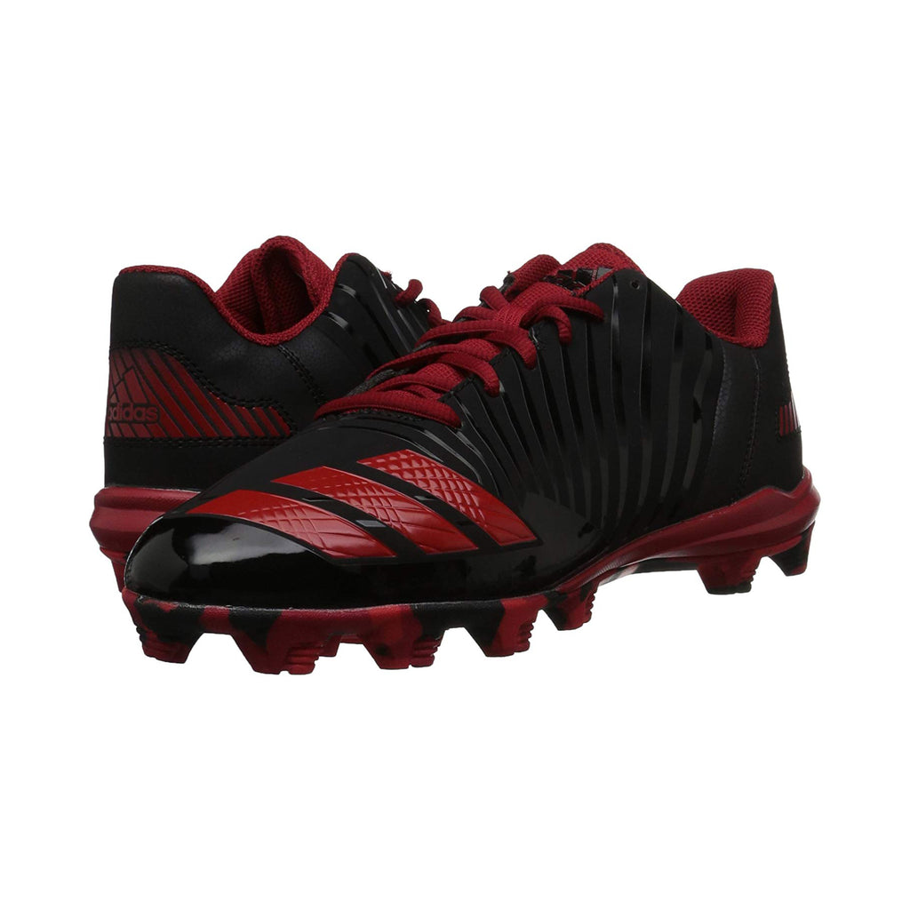 Spikes Beisbol Softbol Adidas Icon MD Negro Rojo