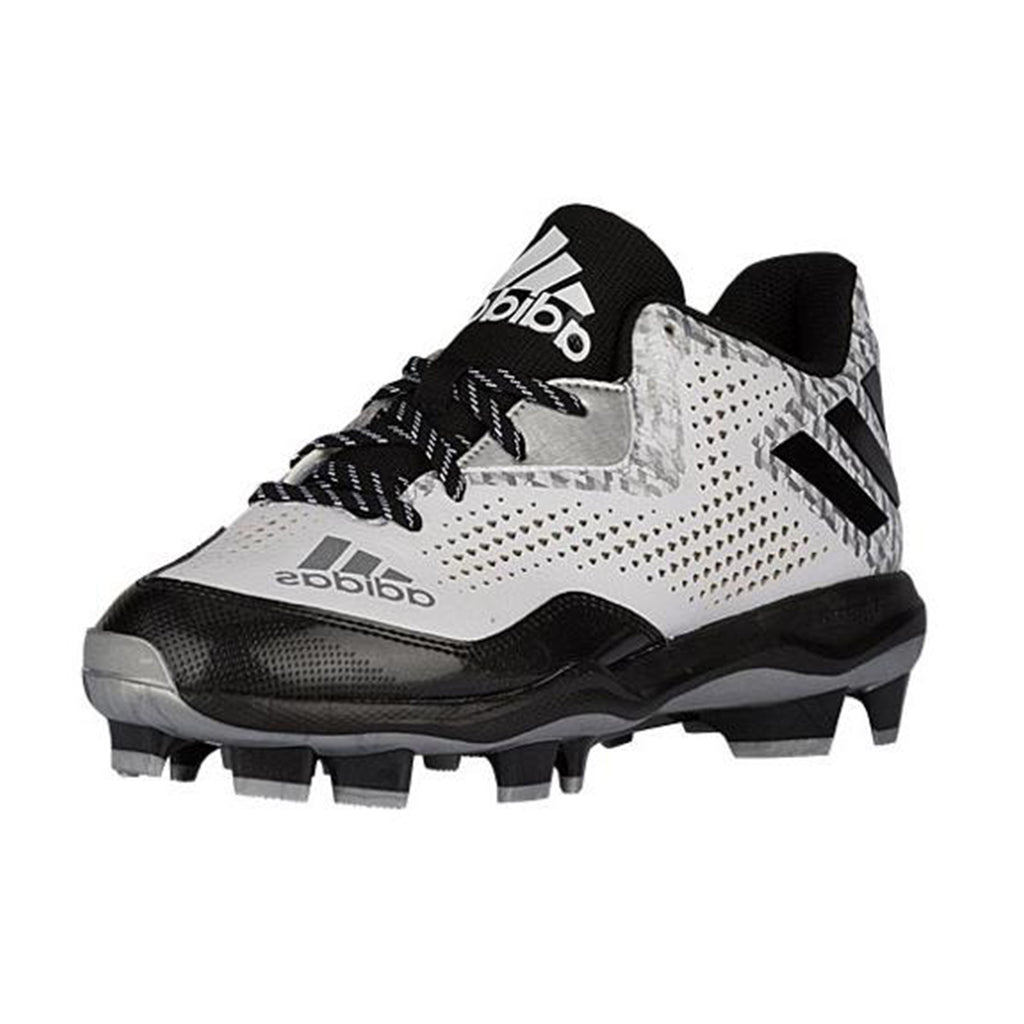 Spikes Beisbol Softbol Adidas Power Alley 4 Blanco Negro
